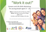 """Work it Out"" Workshop for young people aged 17 to 25"