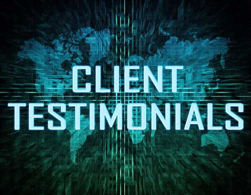 Testimonials from Clients