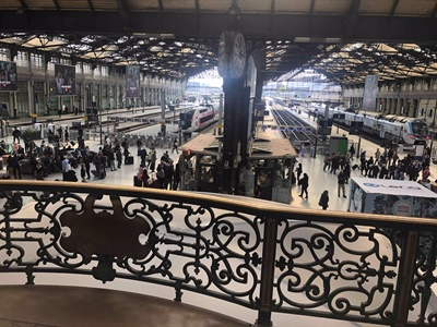 The first 3 Days from Gare de Lyon to Sauges